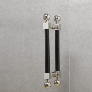 Adjustable Shower Door Pulls
